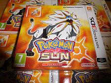 Pokemon Sun Steelbook Fan Edition for Nintendo 3DS PAL Region Brand New unopened