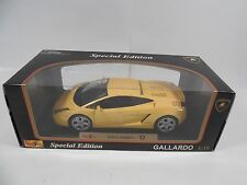 BRAND NEW SPECIAL EDITION LAMBORGHINI GALLARDO 1:18 SCALE DIE-CAST CAR MAISTO