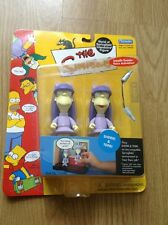 The Simpsons World Of Springfield Sherri And Terri Interactive Action Figures