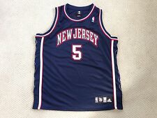 New Jersey Nets Vintage Jason Kidd Adidas Authentic NBA Basketball Jersey 48