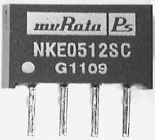 5 x Murata NKE0512SC Isolated DC-DC Converter 5V to 12V @ 83mA 3kV Iso RS232 etc