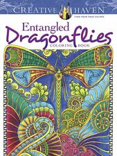 Coloring Books For Adult Emagine Dragonfly Patterns Relaxing Art Design Stress