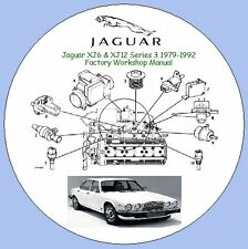 JAGUAR XJ6 & XJ12 SERIES 3 1979-1992 FACTORY WORKSHOP MANUAL