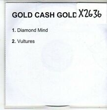 (CS214) Gold Cash Gold, Diamond Mind / Vultures - 2003 DJ CD