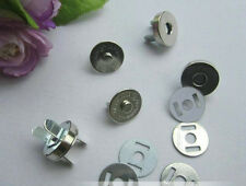 10 set Bag Clothes Metal Magnetic button Snaps Clasp fastener sewing DIY 18mm