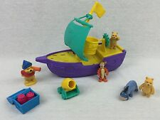 Disney Winnie The Pooh Ahoy There Pirate Ship Play Set Toy w/ 5 Figures FREE SH