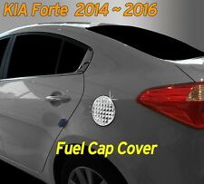 Fuel Gas Tank Door Cap Cover Chrome Molding 1P for KIA Cerato 2014 2015 2016