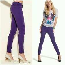 GUESS Brittney Ankle Skinny Jeans with Zip size 24
