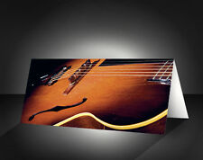 GUITAR BLANK card - Birthday or Anniversary or Party Invitations - Music