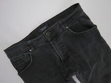 D022 ZARA JEANS PANTS ORIGINAL PREMIUM STRETCH GREY STARIGHT size 38 / W31 L27