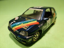 SOLIDO 1:43 - RENAULT CLIO - RALLY VERSION - DIAC 34   - RARE  - GOOD CONDITION