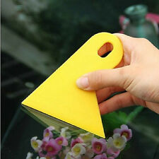 2PCS Car Window Tint Scraper Squeegee Wrapping Vinyl Film Cleaning Tool Kit New
