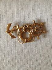 9ct Gold Hope, Faith, Charity Charm