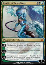 MAGIC Kiora, la Déferlante Créations divines VF NEARMINT PLANESWALKER MTG