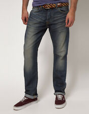 JEANS EDWIN  ED80 SLIM ( quartz  cotton  - blue oiler  wash ) TAILLE W33 L34
