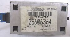 1992-1993 BUICK PARK AVENUE 3.8L , 3.8 SUPERCHARGED OIL MONITOR MODULE 25606364