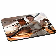 Star Wars The Force Awakens, Rey, 5mm Thick Rectangle Mouse Mat/Pad