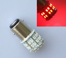 Car 1157 BAY15D T25 P21/5W 50 SMD 1206 LED Brake Turn Stop Tail Light Bulbs Red
