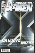 X-MEN GLI INCREDIBILI NUMERO 1 UN NUOVO INIZIO