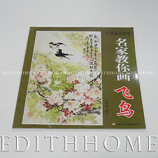 Chinese Painting Book Learn How to Draw Flying Birds  - 60page