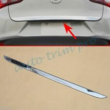 Chrome Rear Tail gate Door Trunk Cover Trim For 2016 2017 Mazda CX3 Accessories