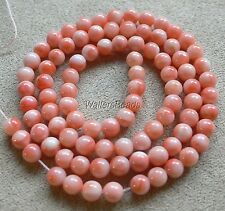 "100% Natural Untreated Coral Bead Strand Angelskin Pink 5 MM 16"" (1)"