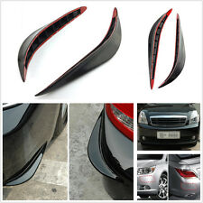 2 Pcs Auto Body Bumper Anti-rub Strips Exterior Decoration Protective Crash Bar