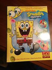 PANINI 2011 SPONGEBOB SQUAREPANTS STICKER ALBUM NEW