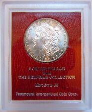 1881 S Morgan Silver Dollar Redfield Hoard Collection Paramount Coin Rim Toned