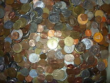Lucky Dip of 25 Mixed Foreign Coins Various Countries & Conditions