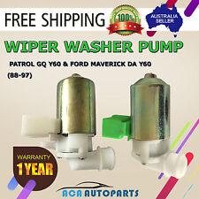 GQ Patrol Washer Wiper Pump Nissan Ford DA Y60 4.2L Carburettor Petrol 6cyl 12V