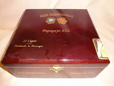 SAN CRISTOBAL PAPAGAYO XXL WOOD CIGAR BOX