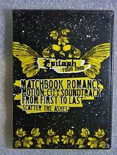 NEW Epitaph Tour 2005 DVD Scatter Ashes First Last Motion City Matchbook Romance