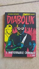 DIABOLIK SWISS N. 2 -Luglio 1994 - L'INAFFERRABILE CRIMINALE -Ed ASTORINA-