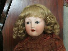 SIZE 7 8  9 SARA WIG  MOHAIR SYNTHETIC  ASH BLONDE   MODERN ANTIQUE DOLL