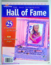 THE 2003 SCRAPBOOK HALL OF FAME, SPECIAL ISSUE MAGAZINE, CREATING KEEPSAKES