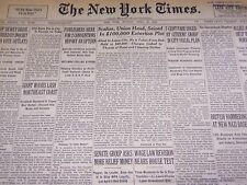1940 APRIL 22 NEW YORK TIMES - SCALISE SEIZED IN EXTORTION PLOT - NT 2899