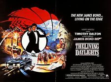 "The Living Daylights james bond 16"" x 12"" Reproduction Movie Poster Photograph"