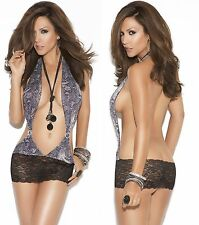 SnakeSkin Dress W/Rhinestone, Elegant Moments,8-14, Sexy Micro Mini Short Dress