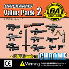 Brickarms Value Pack 2-se puede utilizar con Lego BNIP