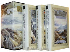 Lord of the Rings ( hardcover boxed set ) Felowship of the Ring,Two Towers + NEW