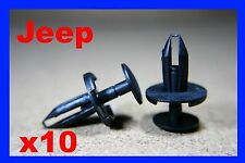 10 Jeep bumper fender push fastener retainer clips