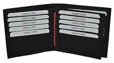 Men's Wallet with 16 Credit Card Slots Genuine Leather - Special Sale