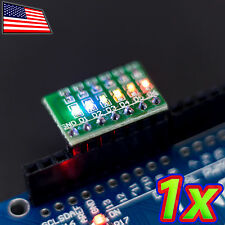 [1x] LED Breadboard Light Strip Breakout Board Arduino Shield - Multi colored
