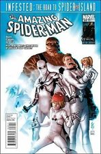 AMAZING SPIDER-MAN 659 1st print MARVEL COMIC FANTASTIC SPIDEY GHOST RIDER NM