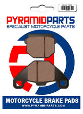 Rieju RS3 50 2012 Rear Brake Pads