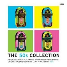 THE 50s COLLECTION 3 CD BOX PETER KRAUS BUDDY HOLLY UVM