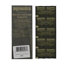 Aquamira Water Purifier Tablets Purification Treatment Camp Hike 10 pack #67406