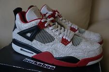 Nike Air Jordan IV 4 Retro White Laser 308497-161 fire red doernbecher db 12