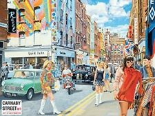 CARNABY STREET - LONDON 60's FASHION POP MUSIC METAL SIGN PLAQUE NOSTALGIC 381